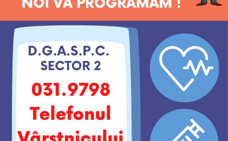DUMNEAVOASTRĂ SUNAȚI, NOI VĂ PROGRAMĂM !
