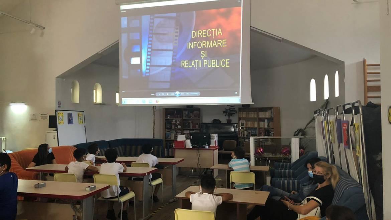 Lecție despre bullying și cyberbullying pentru copiii din cadrul DGASPC Sector 2
