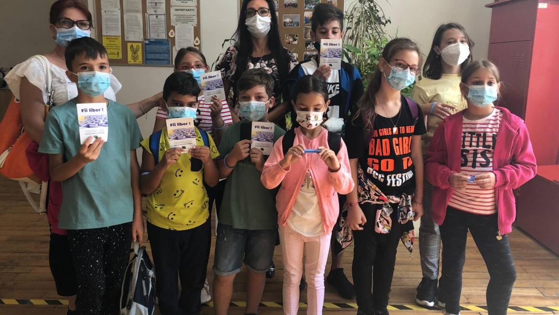 """Copiii din cadrul DGASPC Sector 2 au învățat cum să spună """"NU"""" drogurilor"""