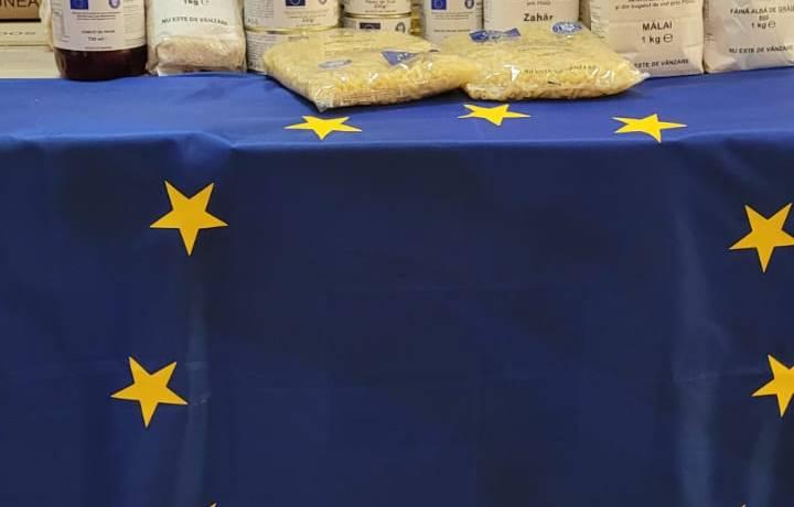ANUNȚ Distribuire ajutoare alimentare din fondurile UNIUNII EUROPENE POAD 2018/2021