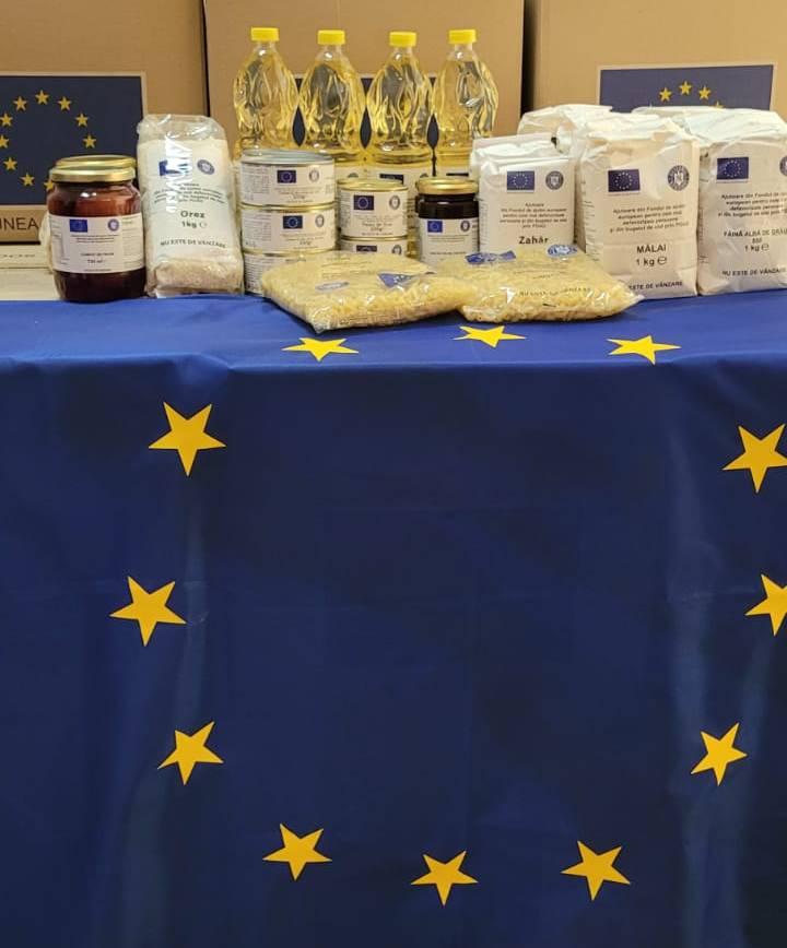 ANUNȚ Distribuire produse de igienă din fondurile UNIUNII EUROPENE POAD 2018/2021